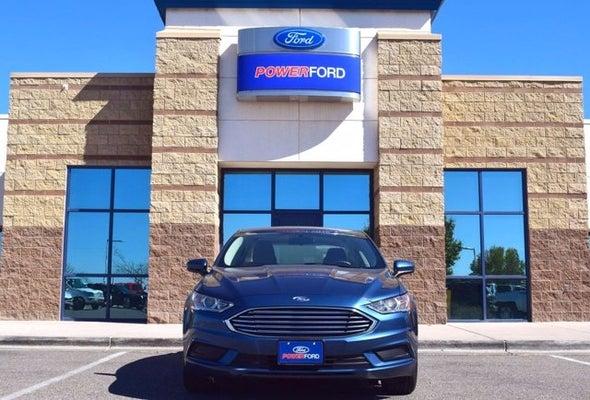 2018 Ford Fusion Se In Albuquerque Nm Santa Fe Ford Fusion Power Ford